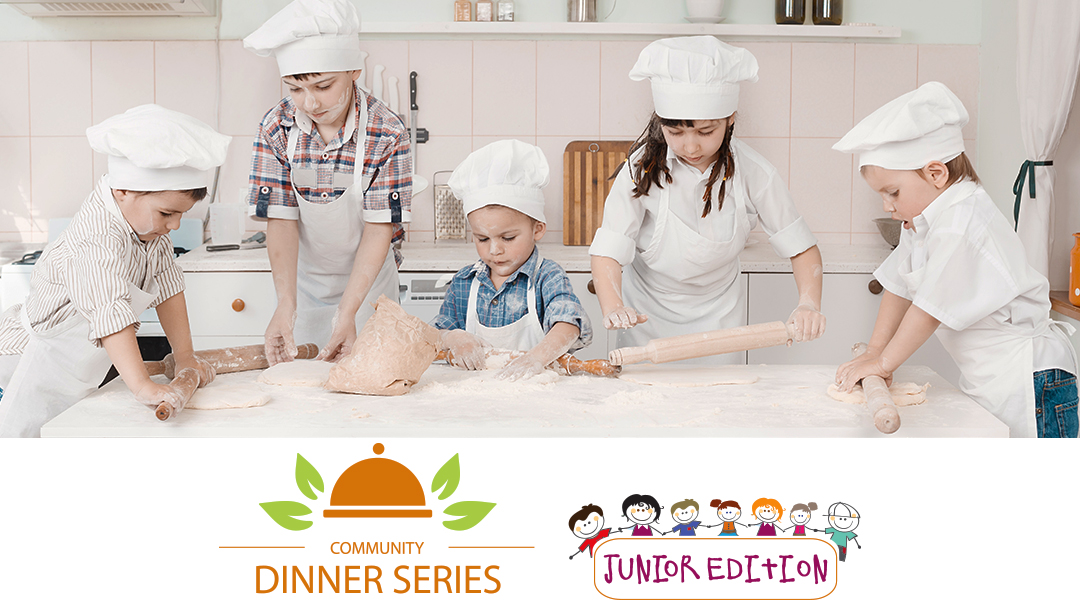 Children cooking - CK Table Community Dinner Series Junior Edition May 2016